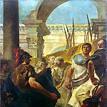 Tiepolo, Giovanni Battista. Quintus Fabius Maximus in the Senate of Carthage, Giovanni Domenico Tiepolo