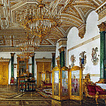 Ukhtomsky, Konstantin Andreevich. Types of rooms in the Winter Palace. Malachite Room, part 12 Hermitage