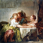 part 12 Hermitage - Fragonard, Jean Honore. Win Kiss