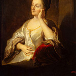 part 12 Hermitage - Troyes, Jean-François de. Portrait of the artists wife Jeanne de Troyes