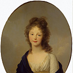 part 12 Hermitage - Tishbeyn, Johann Friedrich August. Portrait of Queen Louise of Prussia