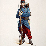 part 12 Hermitage - Tirio, Henri. French soldier with a gun