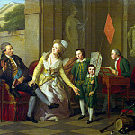 part 12 Hermitage - Tishbeyn, Johann Friedrich August. Portrait of the Saltykov Family