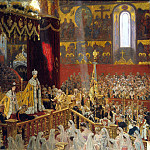 Tux, Laurits Regner. Coronation of Nicholas II and Alexandra Feodorovna, part 12 Hermitage