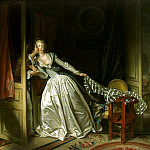 part 12 Hermitage - Fragonard, Jean Honore. Kiss stealth
