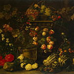 part 12 Hermitage - Faith, Ian. Still life with flowers, fruit and a parrot