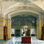 part 12 Hermitage - Ukhtomsky, Konstantin Andreevich. Types of rooms of the New Hermitage. Room V Library