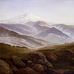 Friedrich, Caspar David. Giant Mountains, Caspar David Friedrich