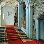 Ukhtomsky, Konstantin Andreevich. Types of rooms in the Winter Palace. Saltykovskaya ladder, part 12 Hermitage