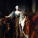 part 12 Hermitage - Tokko, Louis. Portrait of Empress Elizabeth