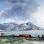 part 12 Hermitage - Uele, Jean-Pierre-Laurent. View of Vulcano from the island of Lipari