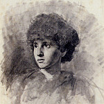 Hiremy Hirschl Adolf Portrait Of The Artists Daughter Maud, Венгерские художники