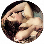 Hungarian artists - BROCKY Karoly Sleeping Bacchante