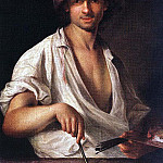 Hungarian artists - MANYOKI Adam Self Portrait