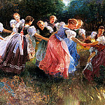 Hungarian artists - Ujvary Ignac The Rite Of Spring