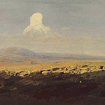 cloud over the mountain valley., Arhip Kuindzhi (Kuindschi)