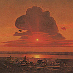 Red sunset., Arhip Kuindzhi (Kuindschi)