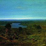 Arhip Kuindzhi (Kuindschi) - Lake. Evening.