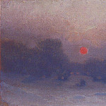 Winter. Last. third of the XIX - early XX century, Arhip Kuindzhi (Kuindschi)