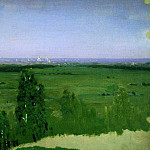 Arhip Kuindzhi (Kuindschi) - View on Moscow from Sparrow Hills.