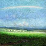 Arhip Kuindzhi (Kuindschi) - After a rain. Rainbow