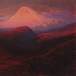 Arhip Kuindzhi (Kuindschi) - Elbrus at evening
