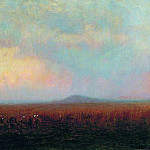 Twilight in the steppe., Arhip Kuindzhi (Kuindschi)