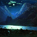 Arhip Kuindzhi (Kuindschi) - Darial Gorge. Moonlit Night.