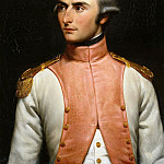 Château de Versailles - Louis-Felix Amiel -- Jean-Baptiste-Charles Bernadotte in the uniform of lieutenant of the 36th Regiment de Ligne in 1792 (later Charles XIV John, King of Sweden and Norway)