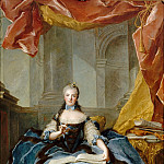 Jean-Marc Nattier -- Marie-Adelaide of France, called Madame Adelaide , Château de Versailles
