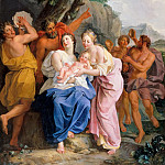 Noël Coypel -- Infant Jupiter held by the Corybantes, Château de Versailles