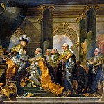Gabriel François Doyen -- Louis XVI received at Reims the homage of the Knights of Saint-Esprit, 13 June 1775, Château de Versailles