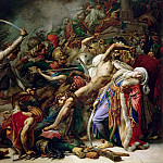 Anne-Louis Girodet de Roucy-Trioson -- Revolt in Cairo on October 21, 1798, Château de Versailles