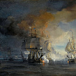 Château de Versailles - Théodore Gudin -- Battle of Solebay on 7 June 1672 (Third Anglo-Dutch War 1672-74; French commanded by Vice-Admiral Comte Jean d'Estrées together with the British commanded by Duke of York against the Dutch Fleet commanded by Ruyter)