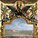 Adam Frans van der Meulen and Charles Le Brun -- Surrender of the citadel at Cambrai, 18 April 1677, Château de Versailles