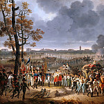 Château de Versailles - Hippolyte Lecomte -- Surrender of Mantua, 2 February 1797: General Wurmser meets General Sérurier