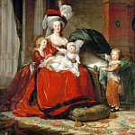 Queen Marie-Antoinette and her Children, De Schryver Louis Marie