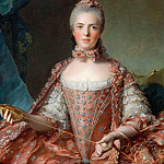 Marie-Adelaide of France, called Madame Adelaide (), Jean Marc Nattier