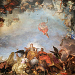 Château de Versailles - Charles Le Brun -- The King governs by himself