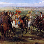 Adam Frans van der Meulen -- Louis XIV at the Siege of Lille, August 1667, Château de Versailles