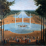 Pierre-Denis Martin -- The Fountain of Apollo and the Grand Canal at Versailles, Château de Versailles