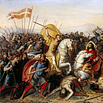 Jean-Joseph Dassy -- Battle of Saucourt-en-Vimeu, July 881, Château de Versailles