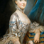 Joseph Ducreux -- Marie-Antoinette of Lorriane-Hapsburg , who became Archduchess of Austria in 1769, Château de Versailles