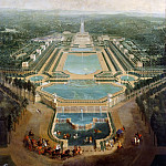 Pierre-Denis Martin -- General view of the chateau and gardens at Marly, around 1724, Château de Versailles