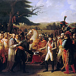 Anne-Louis Girodet de Roucy-Trioson -- Napoleon Receiving the Keys of Vienna at Schönbrunn, 13 November 1805, Château de Versailles