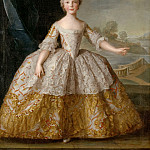 Jean-Marc Nattier -- Isabelle of Parma as a child , Château de Versailles