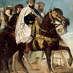 Château de Versailles - Théodore Chassériau -- Ali-Ben-Hamet, Caliph of Constantine and Chief of the Haractas, followed by his Escort (Ali Ben Ahmed)