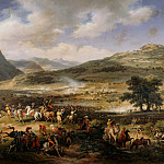 Louis Francois Lejeune -- Battle of Mount Thabor, 16 April 1799, Château de Versailles