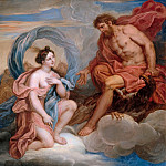 Michel Corneille the younger -- Iris and Jupiter, Château de Versailles