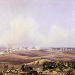Jean Antoine Simeon Fort -- Panoramic View of the Battle of Austerlitz, December 2, 1805, Château de Versailles